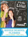 Image showing cover of the Middle School Planner